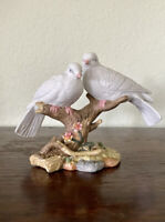 "VINTAGE Maruri Style 1997 Porcelain ""Wings of Love"" Dove Love Birds EUC"