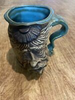 Jim Rumph 1971 Rare Vintage Pottery Mug, The Hangover w/ Pink Elephant
