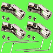 ► 4 Stk 2,3mm x 3mm Wellenkupplung flexibel Kardan 2,3 x 3 Winkel Kardangelenk