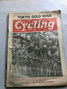 TOKYO OLYMPICS EDITION Cycling & Sporting Cyclist MAGAZINE October 24 1964 #V045
