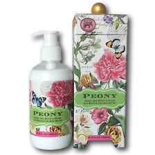Michel Design Works PEONY Hand and Body Lotion + Shea Butter + Aloe Vera