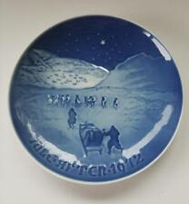 1972 B & G Copenhagen Porcelain Christmas In Greenland Collectible Plate