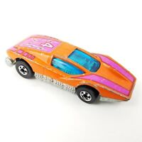 Vintage 1974 Hot Wheels Large Charge Hong Kong 1:64 Scale Purple and Orange #4