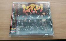LORDI - THE AROCKALYPSE+3+DVD Japan 1st Print w/OBI (BVCP-27118/9) *NEW* OOP HTF
