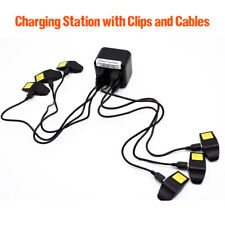 Multi Charger for 6 Alpha & Astro Devices with Cable & Clips for Standard Collar
