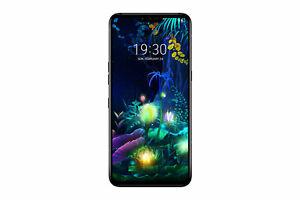 LG V50 V500EM ThinQ 5G (6,4 Zoll) 128 GB schwarz Smartphone Handy - NEU