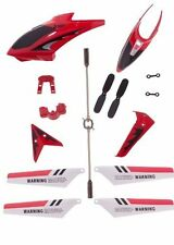 US Syma  full Replacement Parts Set Head Coverfor Syma S107G RC Helicopter Red