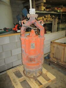 FLYGT SUBMERSIBLE SAND PUMP BK430A - USED