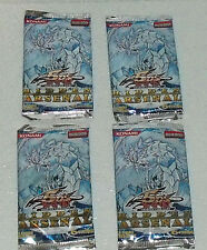 Yu Gi Oh Cards Hidden Arsenal NEW Sealed Set of Four Vtg 1996