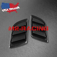 Universal ABS Black Air Fender Grill Body Side Vents Car SUV Sticker Decoration