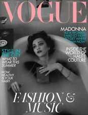 MADONNA - BRITISH VOGUE Magazine June 2019 New Mert & Marcus Medellin Madame X