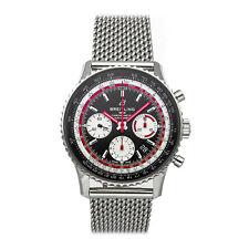 Breitling Navitimer B01 Chrono Reloj de Hombre de Acero Suizo Automático De Aire AB01211B1B1A1