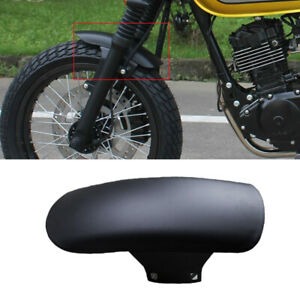 "17""-18""Motorcycle Front Fender Cover Mudguard Racer Splash Dust Muddy Wheel 1PC"