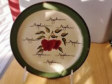 """Home Interiors Salad Plate 7 7/8"""" Apple Orchard Collection"""