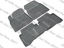 Fully Tailored Rubber / Set of 5 Car Floor Mats Carpet for KIA NIRO 2016—2017