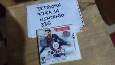 FIFA 14 LEGADO LEGACY EDITION NINTENDO 3DS Mexico good condition ESRB RATING