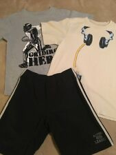 Crazy 8 Boy's T-Shirts and Athletic Shorts, Size M (7-8)