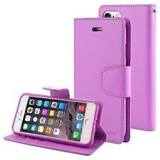 iPhone 6 6s 6 Plus 6s Plus Genuine Goospery Sonata Purple Flip Case Wallet Cover