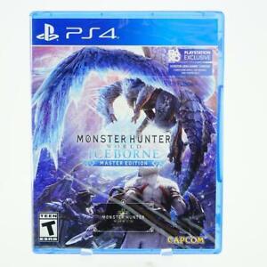 Monster Hunter World Iceborne Master Edition: Playstation 4 [Brand New] PS4