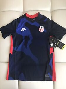 Nike Dri-Fit US 2020 Stadium(4-star) Away Soccer Jersey CD1059-475 Size Youth M