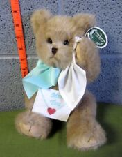 BEARINGTON COLLECTION Teddy Bear doll NWT w/ envelope Beary Blue Without You