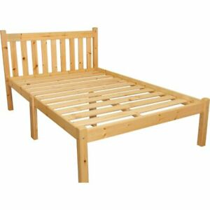 Brambly Cottage Bed Frame Double - Solid Wood