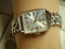 VINTAGE NEW OLD STOCK SEIKO CHORUS  SPECIAL  DIASHOCK 23 JEWELS STAINLESS STEEL