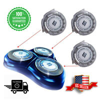 3pcs HQ8 Replacement Heads Dual Precision for Philips Norelco Shavers and blades