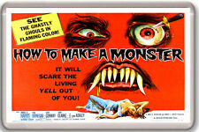 HOW TO MAKE A MONSTER 1958 FRIDGE MAGNET IMAN NEVERA