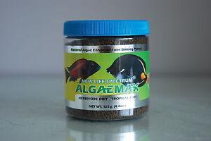 NLS Algae Max Pellet 1mm Enhancing Pellets 125g Tub Suitable For all Fish