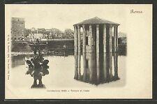 Roma - Inondazione 1900 - Alluvione - Tempio di Vesta - Indivisa