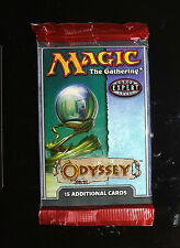 Magic Mtg Odyssey Factory sealed Booster Pack X 3 !