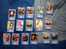 lot cartes de collection auchan - disney - pixar - La Belle et la bête - Cars