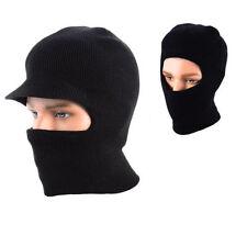 Chapeaux cagoule noire pour homme