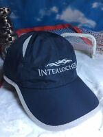 Interlochen golf running tennis hat cap adjustable strapback h49