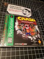 NEW PS1 CRASH BANDICOOT 1 SEALED EXCELLENT CONDITION MINOR WEAR ONLY PLAYSTATION