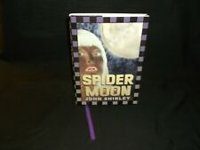 Spider Moon by John Shirley (2002, HD) Cemetery Dance Signed W/Page Marker