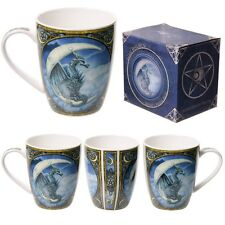 Gothic/Pagan/New AGe Bone China Mug - Lisa Parker Dragon  BOXED.10cmx12cmx8cm