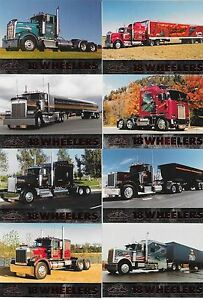 MINT!!  SET OF EIGHTEEN WHEELERS 1 TRADING CARDS