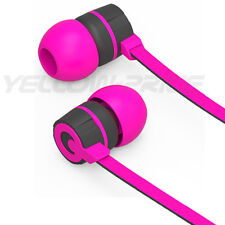 In-Ear Style Stereo 3.5mm Jack Earbuds Earphones Mic ON/OFF Earphone Purple