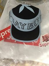 Supreme Play Boy Pill Box Hat Blue