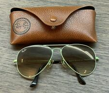 RAY-BAN AVIATOR RB 3025 L 033/32 - WOMENS MINT GREEN SUNGLASSES - 100% AUTHENTIC