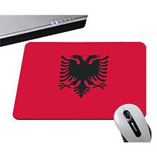 TAPIS DE SOURIS ALBANIE DRAPEAU ALBANAIS