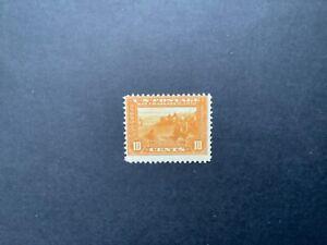 USA stamps, 1913, MNH, Scott#400, Panama Pacific exposition, yellow