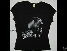 Ricky Martin Black and White Tour 2007 Junior Size Xl Black V-Neck Shirt
