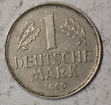 Germany 1960J 1 Deutche Mark Coin