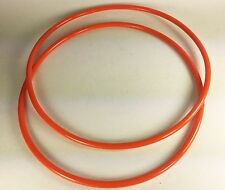 2 Drive Belts Round Urethane for Universal Products VBS 14UL BandSaw Made in USA