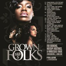 DJ ANT LO GROWN FOLKS SOUL & R&B CLASSICS MIX CD VOL 5