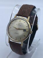 Vintage Mens Bucherer Starlite Slender Automatic Watch 25J Microtor By Buren