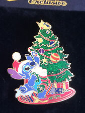 Japan Disney Mall Stitch Decorating Christmas Tree Pin LE 300